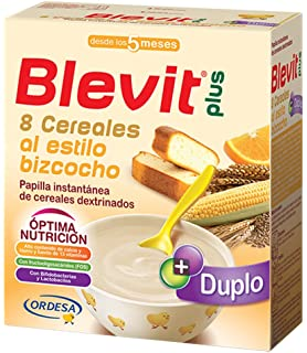 Blevit Plus 8 Cereales, Quinoa y Fruta - 300 gr: Amazon.es ...