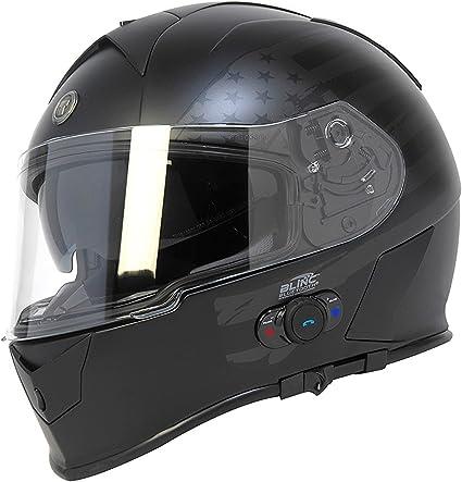 Amazon.es: Torc T14B Bluetooth integrado Mako Full Face casco de ...
