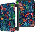 TERSELY Slimshell Case Cover for All-New Kindle Paperwhite 10th Generation-2018 (Model No. PQ94WIF), Smart Shell Cover with Auto Sleep/Wake for Amazon Kindle Paperwhite 10th - Jungle