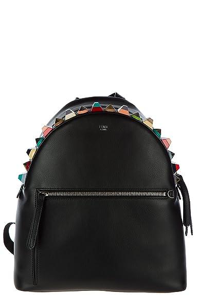 Fendi sac à dos femme en cuir noir  Amazon.fr  Chaussures et Sacs 59b131ec530