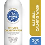 The Moms Co. Natural Calming Wash (200ml) with Lavender Oil and Patchouli Oil for Moisturizing Dry Skin, Calming, Relaxing
