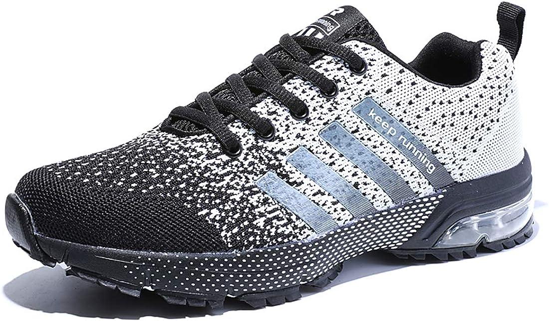 para Hombres Muje Zapatos Monta?a y Asfalto Aire Libre Deporte Running Zapatos para Gimnasio Sneakers Transpirables Casual Zapatos Air Cushion Sneakers Resistente Zapatillas Deportivas de: Amazon.es: Zapatos y complementos