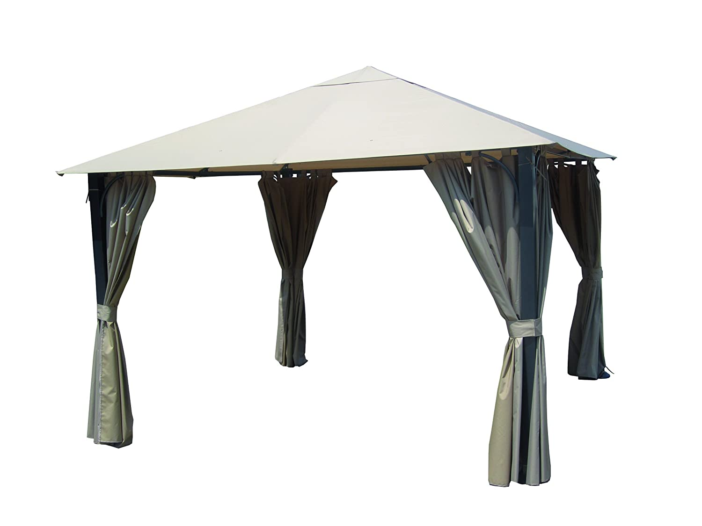 pavillon livorno montageanleitung pavillon aus metall. Black Bedroom Furniture Sets. Home Design Ideas