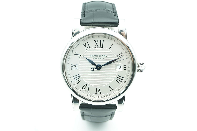 Montblanc 107114 Meisterstuck - Reloj automático, autoenrollable, diseño de hombre (certificado de autenticidad): Montblanc: Amazon.es: Relojes