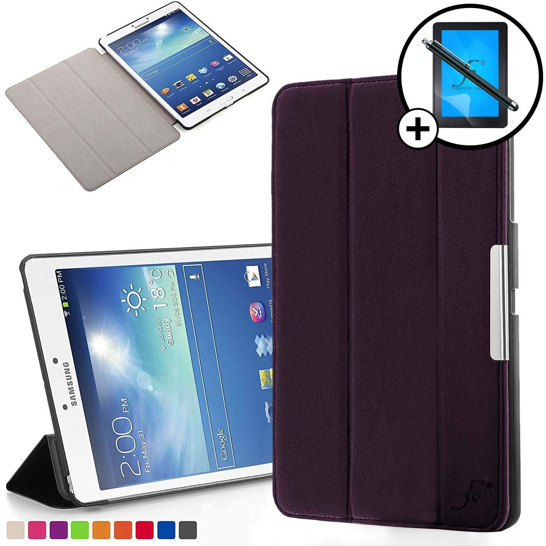 Forefront Cases Smart Funda para Samsung Galaxy Tab 3 8.0 Carcasa Stand Case Cover - Protección Completa y Ultra Delgado Ligera con Auto Sueño Estela ...