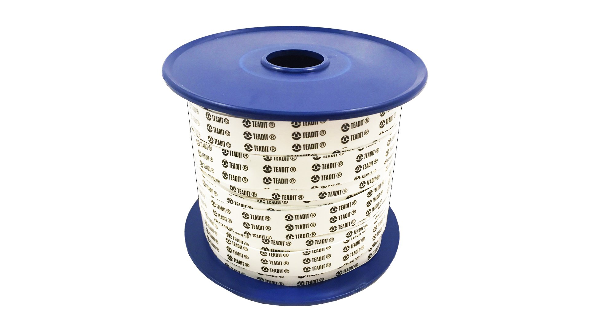 Sterling Seal and Supply (STCC) 24BB.500.020.100 White PTFE Teadit 24BBA Expanded Gasket Tape, 1/2'' Width, 0.020'' Thick, 100' Spool by Sterling Shelf Liners