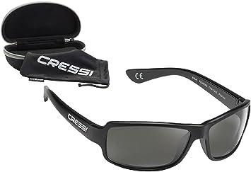 7e84f9d5c4 Cressi Ninja Gafas de Sol, Unisex Adulto, Negro Brillante/Lentes Gris  Oscuro, Ultra Flex Talla única: Amazon.es: Deportes y aire libre