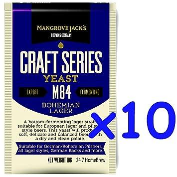 【クリックで詳細表示】<title>Amazon.co.jp: 10袋 x マングローブジャック製クラフトシリーズイーストM84ボ&#x30D8