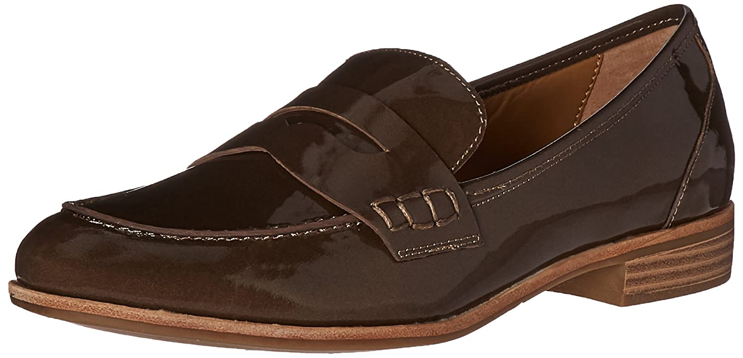 Mocha G.H. Bass & Co. Womens Emilia Pointed Toe Flat
