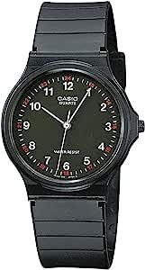 Casio Reloj Analogico para Hombre de Cuarzo con Correa en Resina MQ-24-1BLLEG