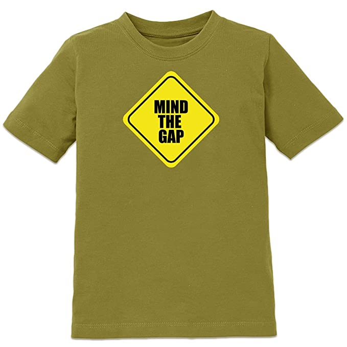 Camiseta de niño Mind The Gap Warning by Shirtcity