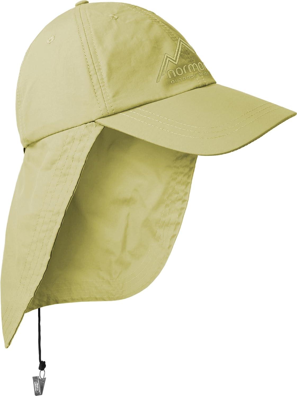 normani Safari Cap mit extra langem Nackenschutz mit Bel/üftungsl/öcher