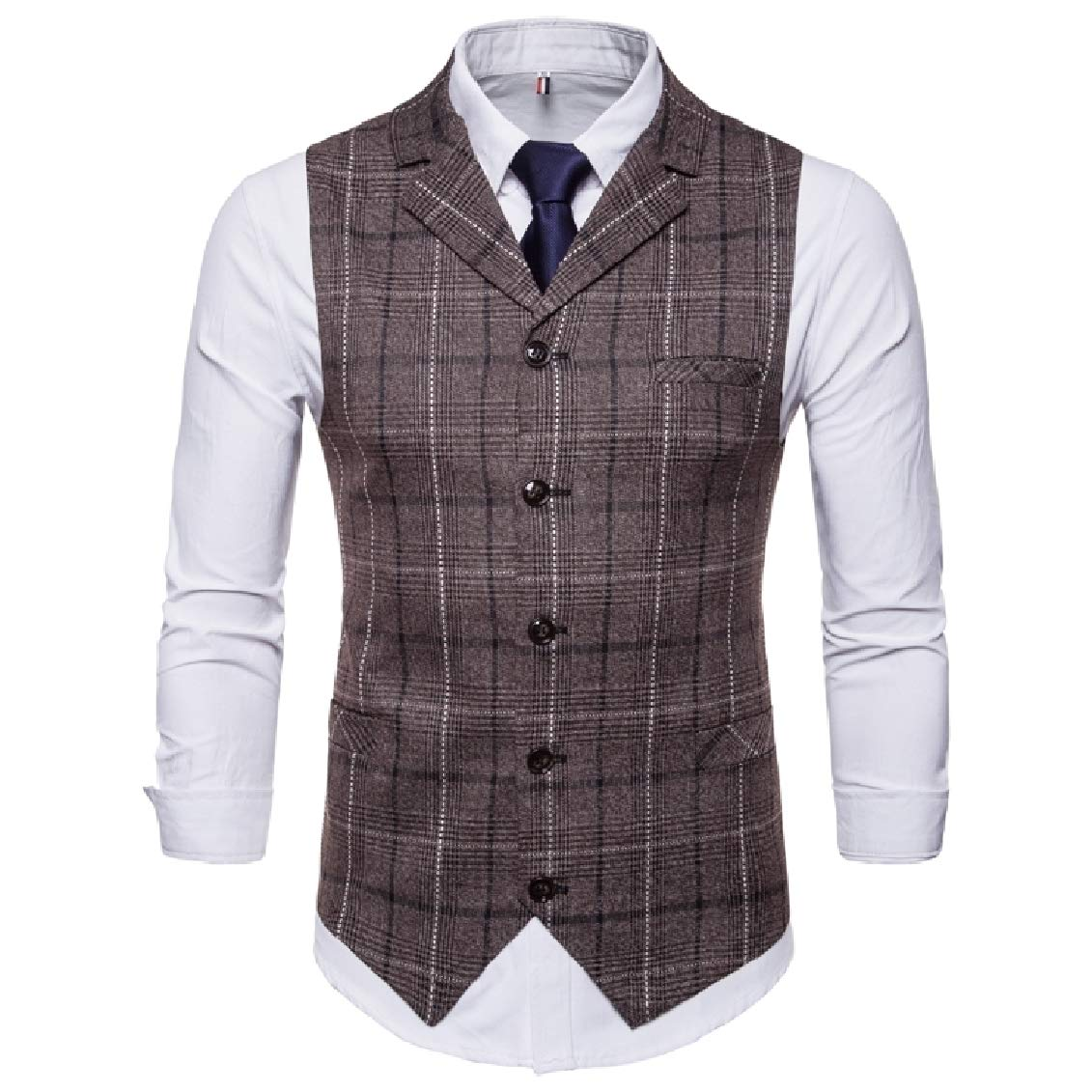Coolred-Men Oversize Bridal Single-Breasted Formal Blazer Jacket Suits
