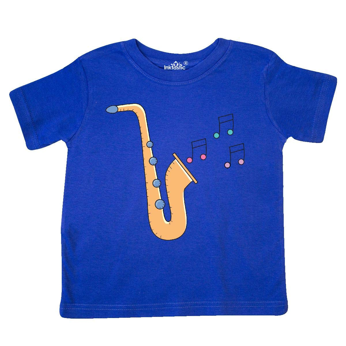 inktastic Saxophone Player Music Gift Toddler T-Shirt
