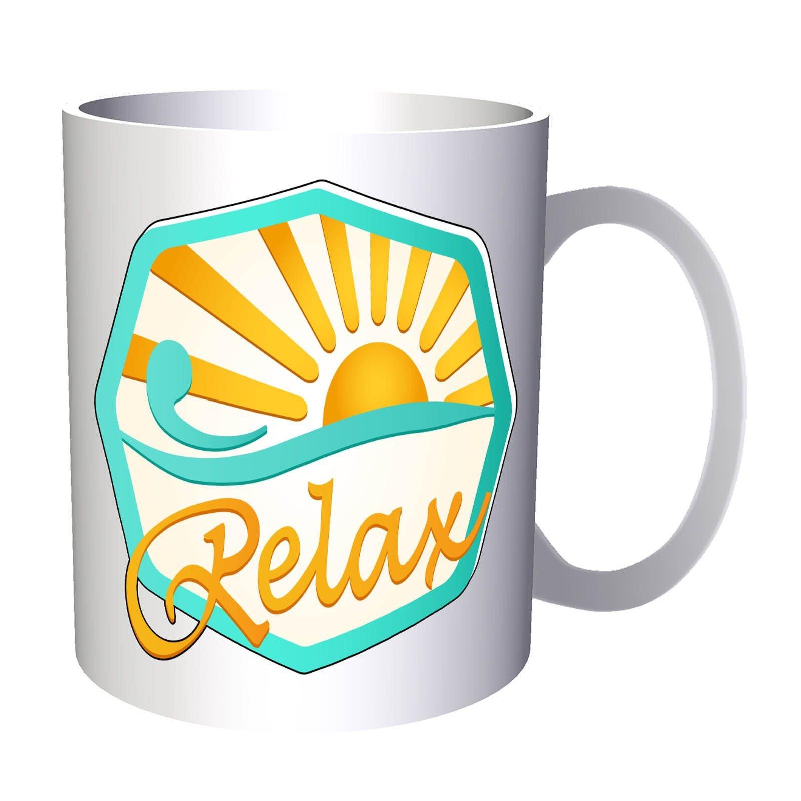 Beauty Relax Health Spa 11oz Mug o688