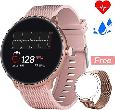 Bebinca Smartwatch Reloj Inteligente con Cronómetro, Pulsera Actividad para Deporte,Reloj de Fitness con Podómetro ...