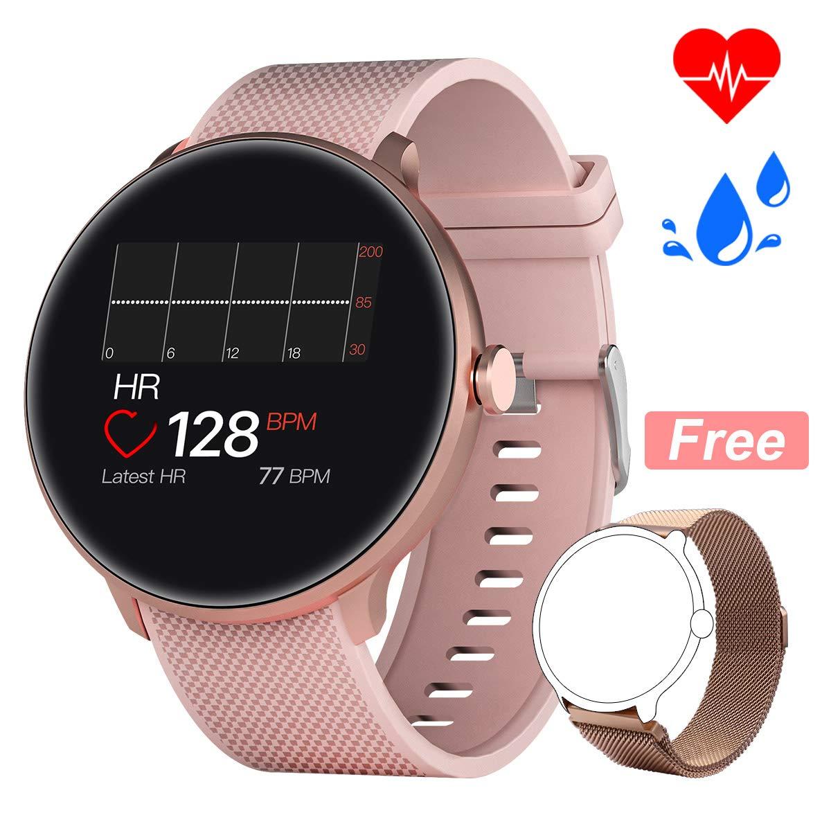 Bebinca Smartwatch Reloj Inteligente con Cronómetro, Pulsera ...
