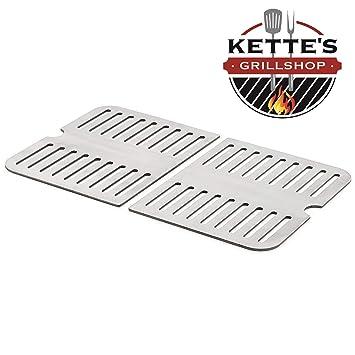Kettes - Parrilla de Acero Inoxidable para barbacoas de Gas ...