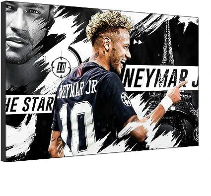 Five-Seller Neymar da Silva Paris Saint-Germain Stella del Calcio ...