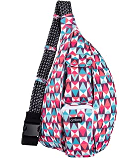 Amazon.com: KAVU Rope Sling Backpack, Busy Livin, One Size: Sports ...