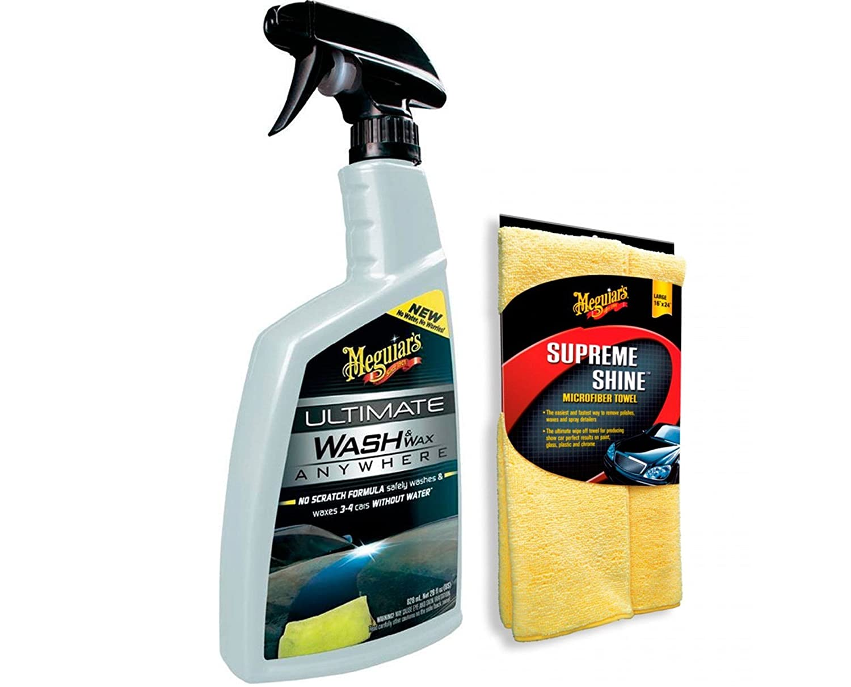 Meguiar' s G3626EU Ultimate Waterless Wash & Wax 768ml Meguiar' s Car Care Products