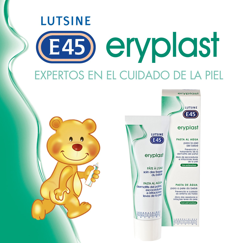 LUTSINE E45 Eryplast Pasta al Agua 75G: Amazon.es: Alimentación y bebidas