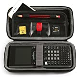 BOVKE for Graphing Calculator Texas Instruments TI Nspire CX CAS Graphing Calculator Hard EVA Shockproof Carrying Case Storage Travel Case Bag Protective Pouch Box