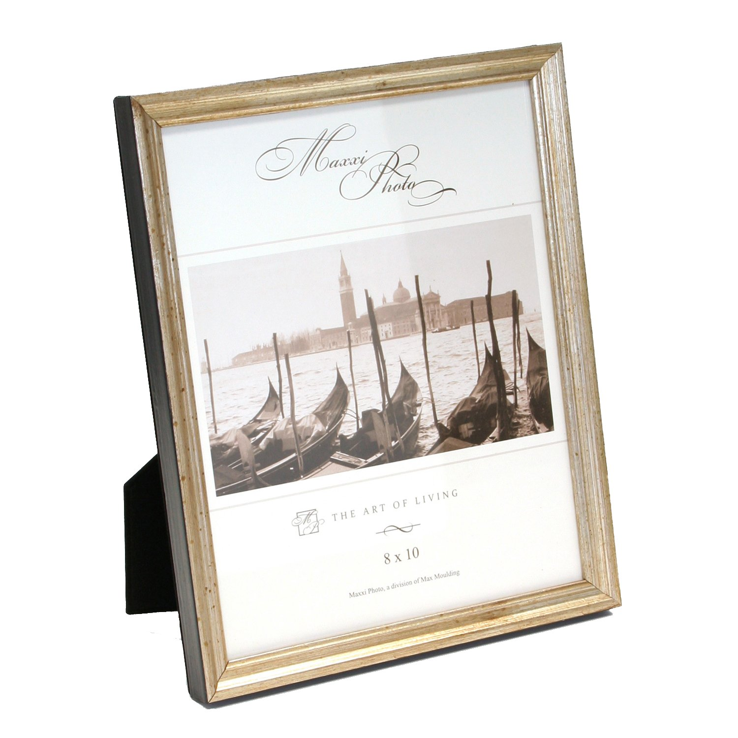 Maxxi Designs Photo Frame with Easel Back, 8 x