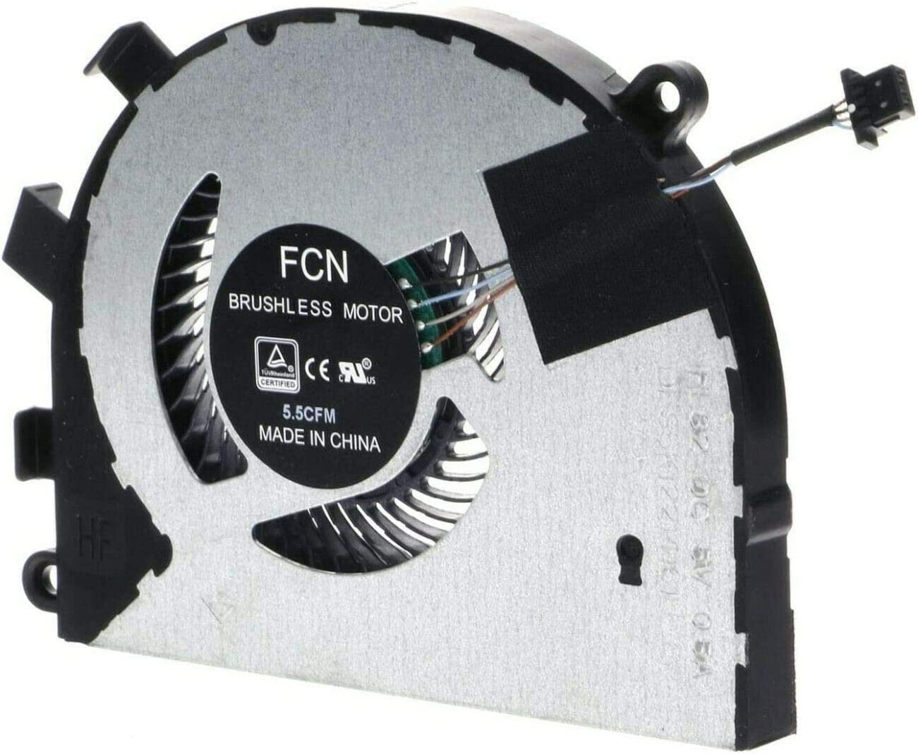 HK-Part Fan for Dell Inspiron 5584 15-5584 Latitude 3400 3500 CPU Cooling Fan 0T6RHW T6RHW