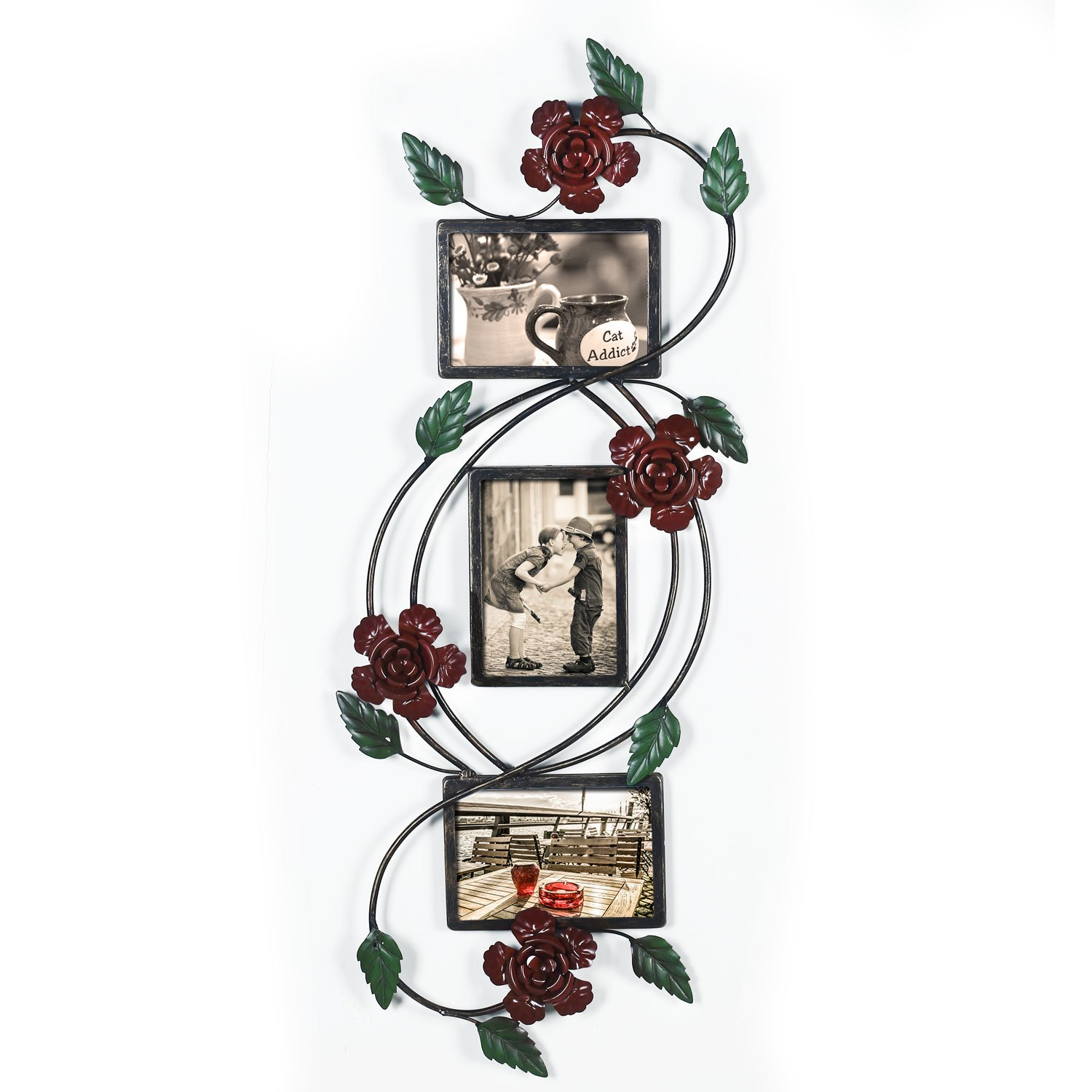 3-Opening Collage Metal Photo Frames