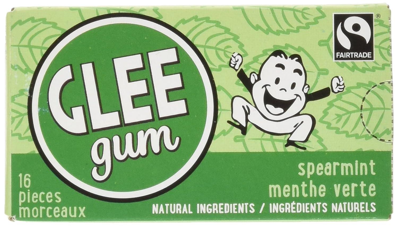 Glee Gum Spearmint Natural Chewing Gum, 12 Count, 240 Grams Verve Inc.