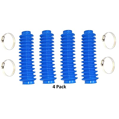 Shock Rough Boot Lifted 4x4 ORV Country Absorber Blue 4 Pack