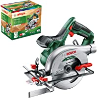 Bosch 06033B1300 Cordless Circular Saw PKS 18 LI (Without Battery, 18 Volt System, Saw Blade Included, in Box)