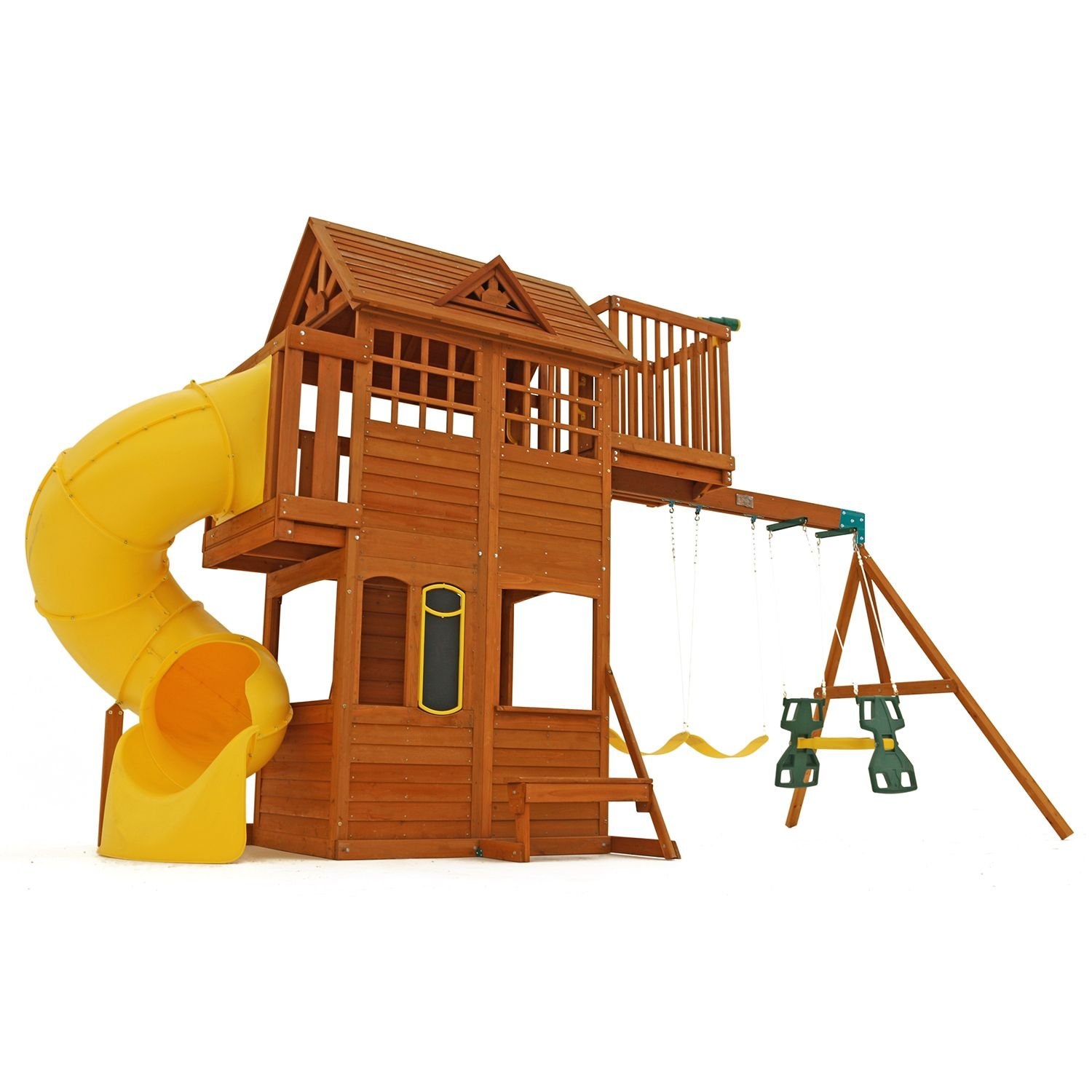 Amazon Kids Outdoor Adventure Clubhouse with Twist N Ride
