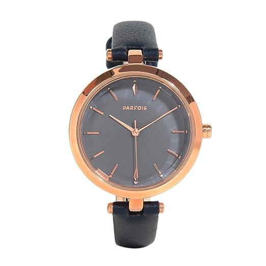 Parfois - Reloj Navy - Mujeres - Tallas Única - Azul Marino: Amazon.es: Relojes