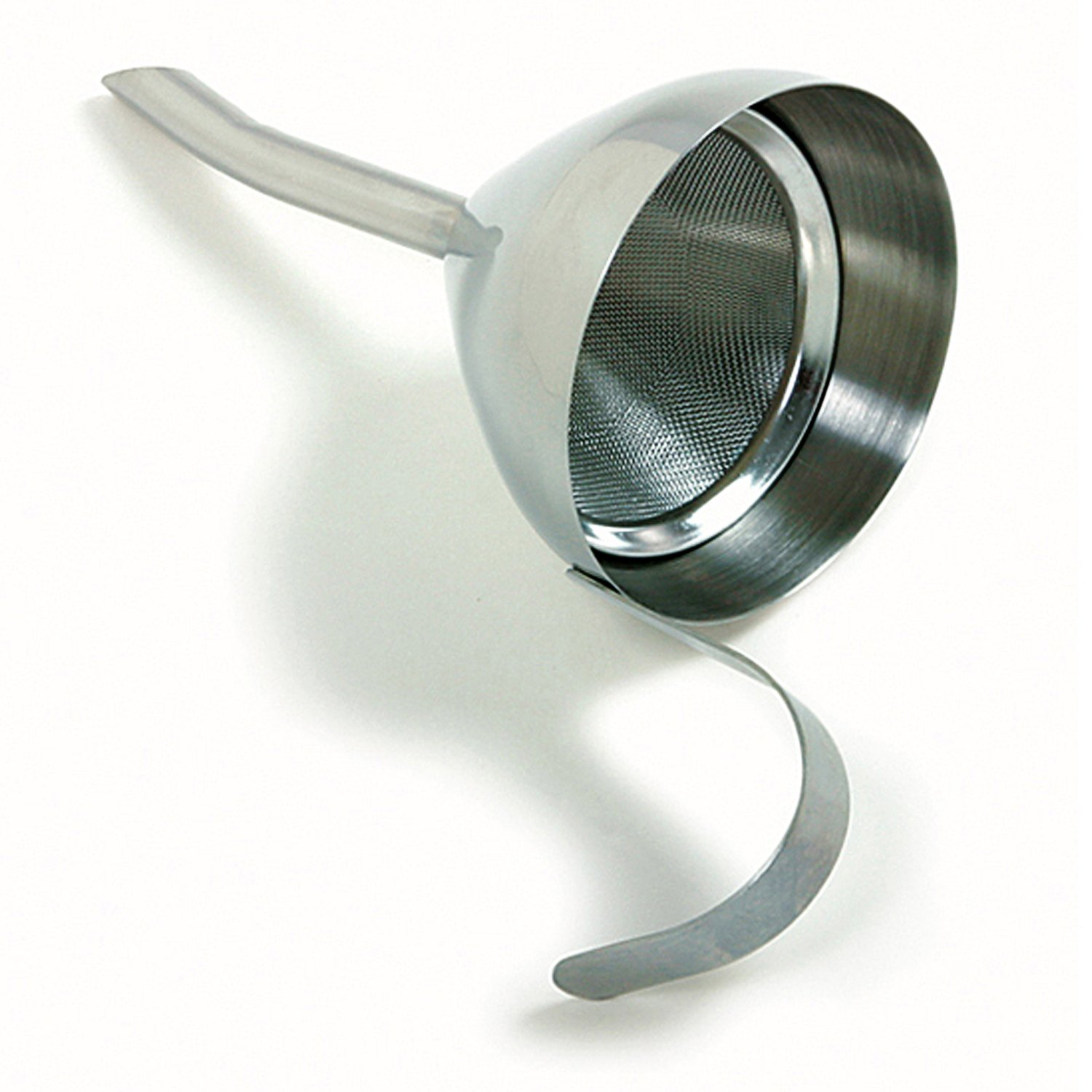 Norpro Stainless Steel Funnel with Strainer 242