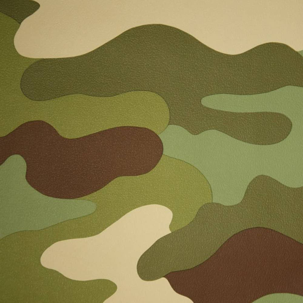 Camouflage Wallpaper Green