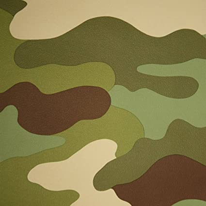 camouflage wallpaper green amazon com