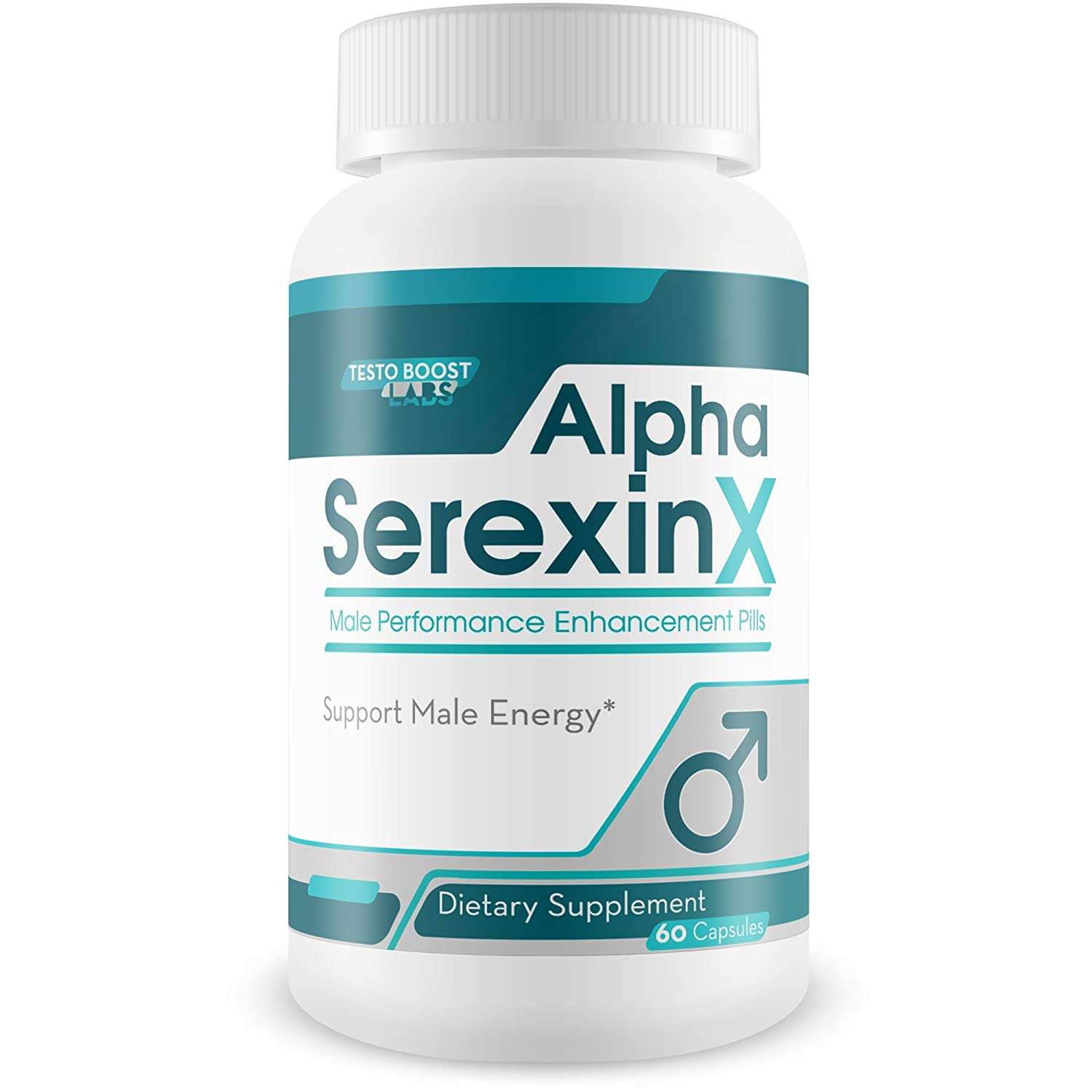 Alpha Serexin X – Male Performance Enhancement Pills – Support Youthful Energy, Drive, Stamina, and Motivation – Made with Yohimbe Ginseng for Ultra Last XXL Power, Focus, and Supreme Vigor –