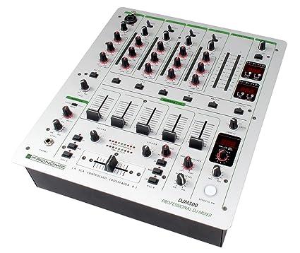cec6753f37ef0 Pronomic DJM500 - Mesa de mezclas de DJ