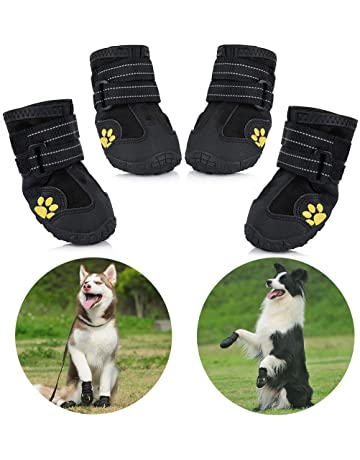 Boots And Paw Protectors For Dogs Amazon Co Uk