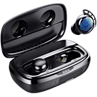 Wireless Earbuds, Tribit 100H Playtime Bluetooth 5.0 IPX8 Waterproof Touch Control Ture Wireless Bluetooth Earbuds with…