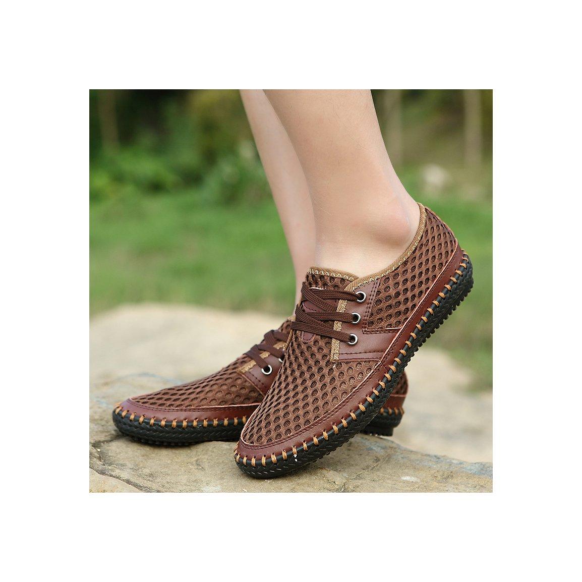 MOHEM Men's Poseidon Casual Water Shoes Mesh Walking Quick Drying Hiking Shoes