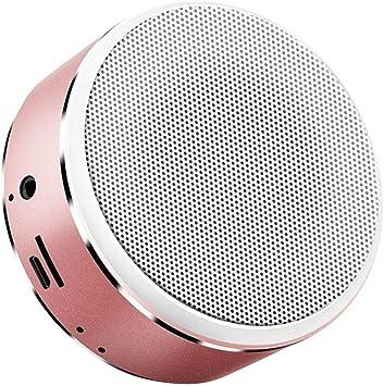 Altavoz portátil Bluetooth 4.2, Redondo, Tarjeta TF, inalámbrico ...