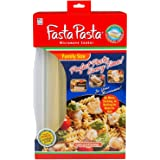 Microwave Pasta Cooker- The Original Fasta Pasta Family Size- Quickly Cooks up to 8 Servings- No Mess, Sticking, or Waiting f