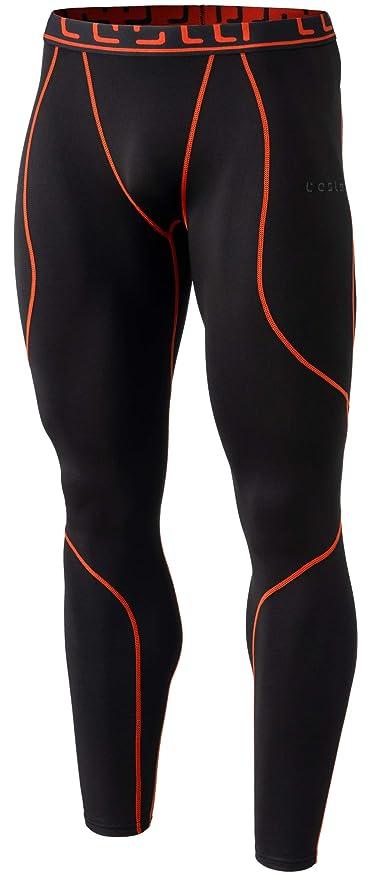 34209d462d TM-YUP43-KOG_2X-Large Tesla Men's Thermal Wintergear Compression Baselayer  Pants Leggings Tights