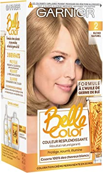 Garnier Belle Color - Coloración permanente, tinte rubio ...