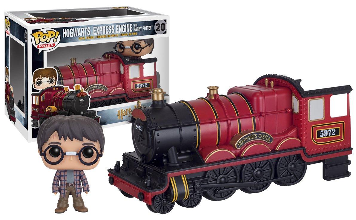 Funko Pop! Harry Potter - Expreso  de Hogwarts con Harry, tren, ferroccarril donde viajan