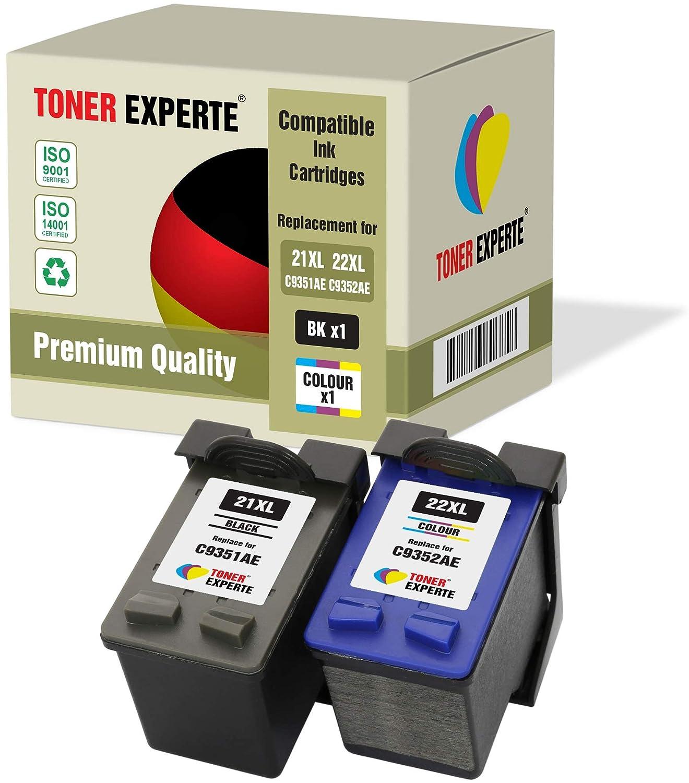 Pack de 2 XL TONER EXPERTE® Cartuchos de Tinta compatibles con HP ...