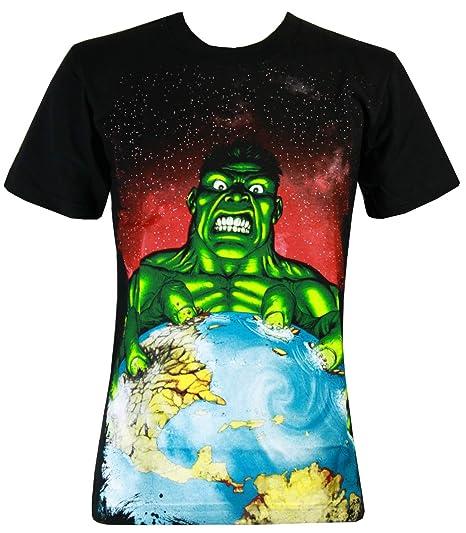 5c1da6821b91f Amazon.com  Incredible Hulk Greenhouse Effect Men s T-Shirt